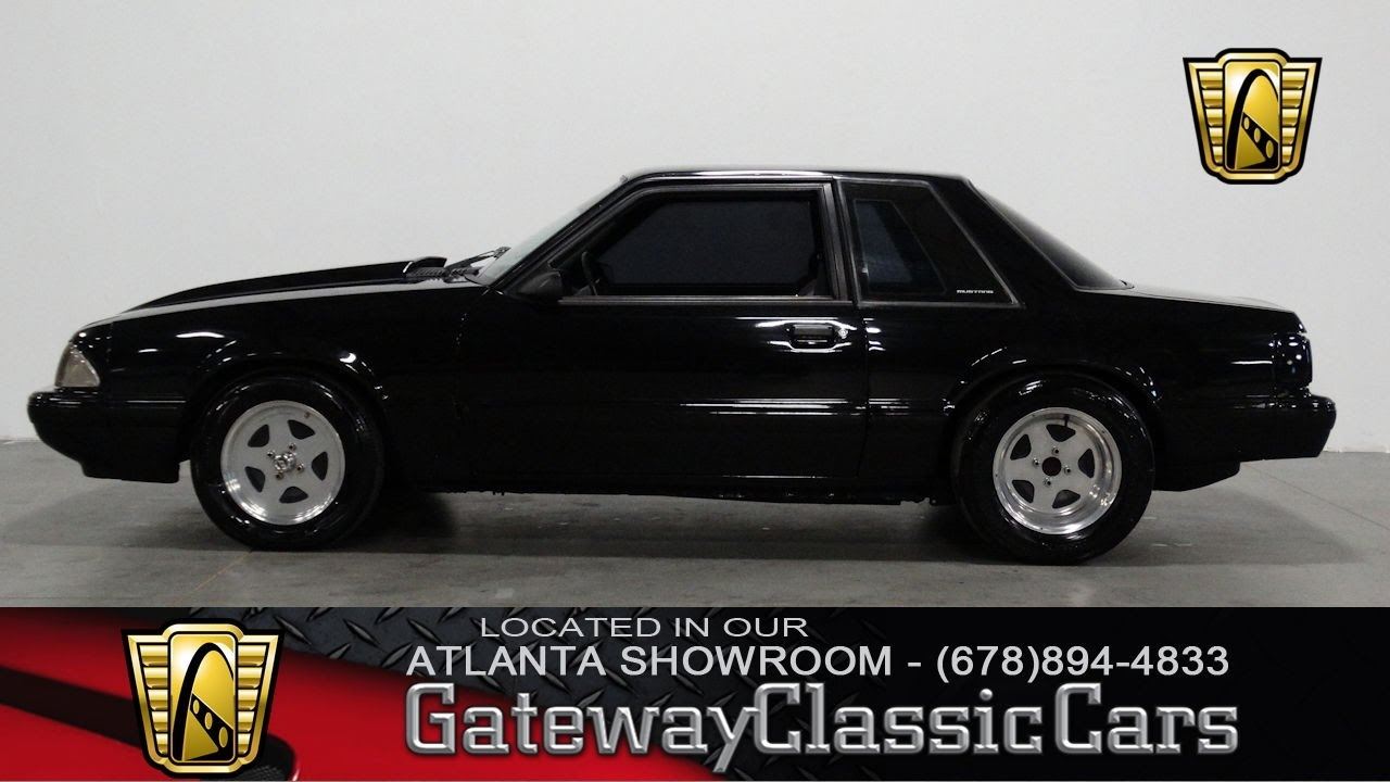 1992 ford mustang lx gateway classic cars of atlanta 286