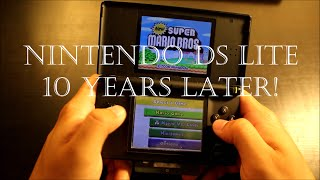 Nintendo DS Lite 10 years later!