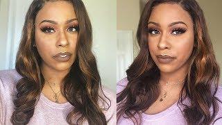 From Black to Cinnamon/Honey Brown!| 3 Month Update | Dola Hair