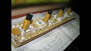 Сборка модели Титаника(Сборка модели ACADEMY., 2011-04-15T21:07:29.000Z)