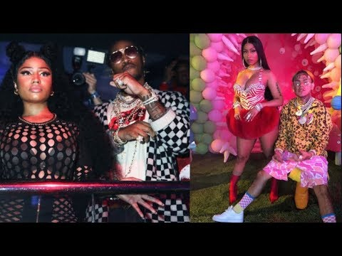 REPORT:Nicki Minaj, Future Forced To Call Tekashi 69,Add Him To Tour Because Tickets Are Not Selling