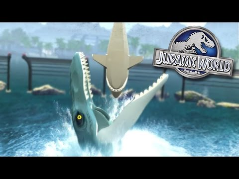 COMPLETE JURASSIC WORLD!! - Lego Jurassic World || iOS/Android HD