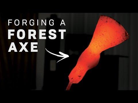 FORGING A FOREST AXE!