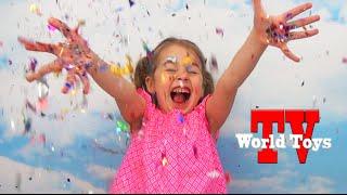 Детский развлекательный канал WORLD TOYS TV || Девочка Арина || Трейлер