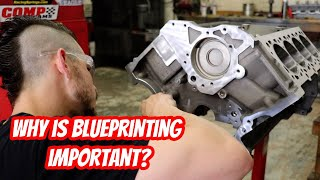 5.8L GT500 Engine Sleeved Block Prep and Blueprinting