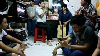 hòa tấu harmonica guitar cajon