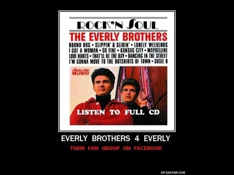 Everly Brothers ~ Full CD ~ ROCK & SOUL