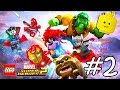 LEGO Marvel Superheroes 2 Cartoon Game Videos for Kids - Superhero Video Games - Part #2