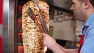 istanbul street food | chicken doner kebab |  turkey street fo…