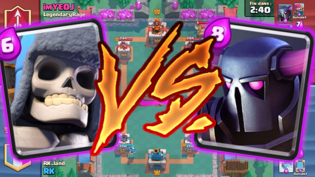 Duel #2 Sur Clash Royale En Français
