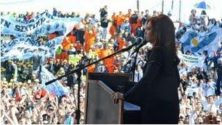 30 de AGO. Inauguración nuevos tramos Autovía Ruta Nacional 14. Cristina Fernández