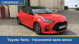 Essai - Toyota Yaris (2020) : l'économie sans l'ennui
