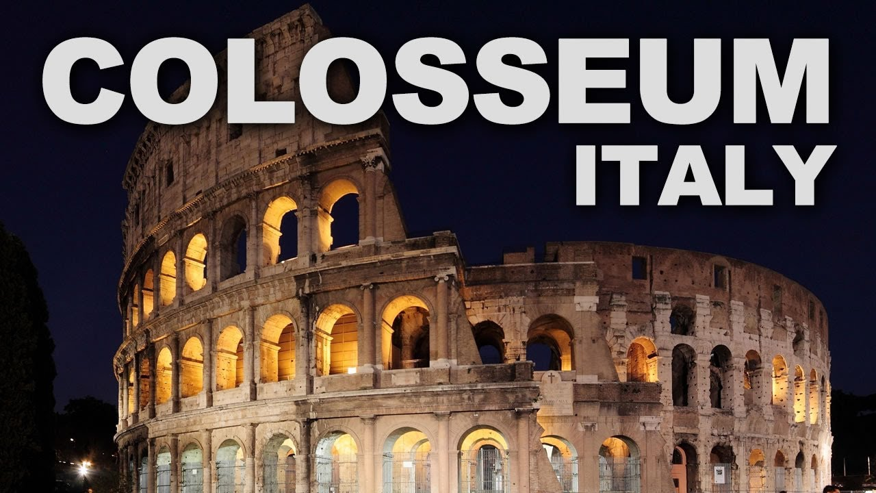 Colosseum The Greatest Example Of Roman Architecture And Engineering