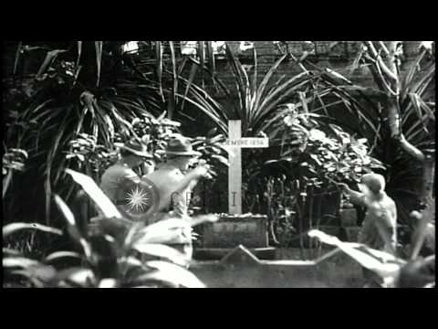 Grave of Dr Jose Rizal and fishing boats dock in harbor, Manila, Philippine Islan...HD Stock Footage