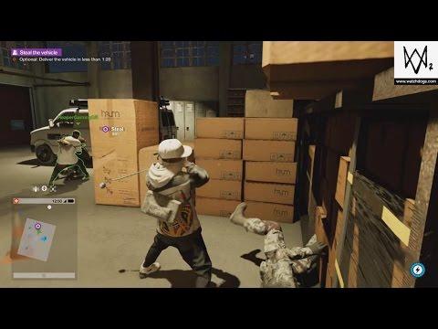 Watch Dogs 2 Co-oP Stealth Kills 2