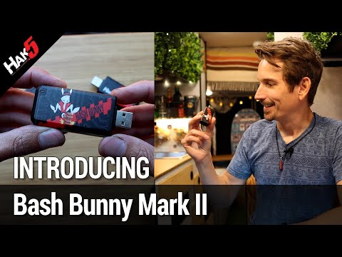 Introducing the Bash Bunny Mark II - Story Time with @Hak5Darren