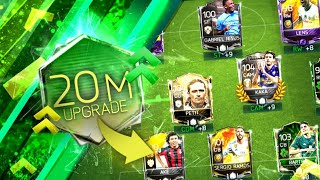 20 million coins UPGRADE TEAM - FIFA MOBILE 18