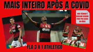 Sem treinar com o técnico e de ressaca pós-COVID, Fla vence reservas do Athletico, avança e vira 4º