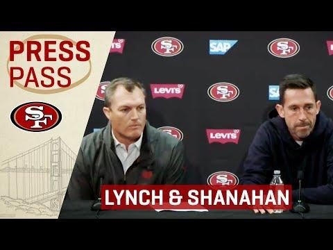 John Lynch & Kyle Shanahan Review 2018 Season + Outline Vision for Offseason | San Francisco 49ers