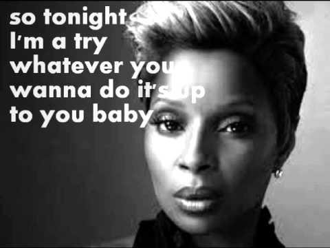 Mary J. Blige Don't Mind Lyrics