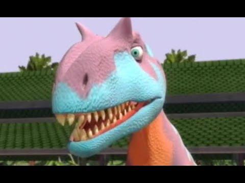 Поезд динозавров Съезд клуба тероподов Мультфильм про динозавров