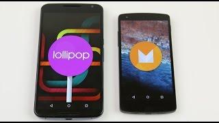 Android Lollipop vs Android M, confronto in italiano