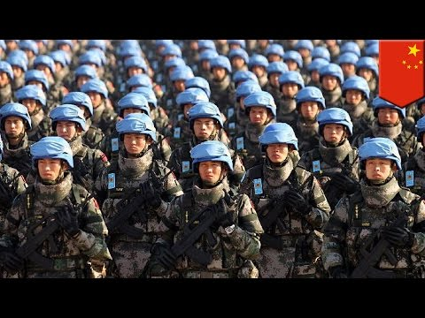 China sends troops to South Sudan as part of UN peacekeeping mission