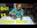 Drill VS Impact Driver-The Differences