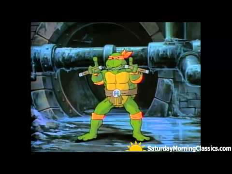 Teenage Mutant Ninja Turtles - Original Cartoon Intro Opening (1987)