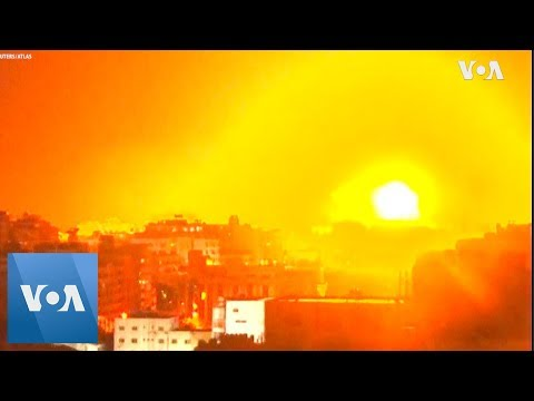 Israel Responds With Airstrikes To Palestinian Rockets