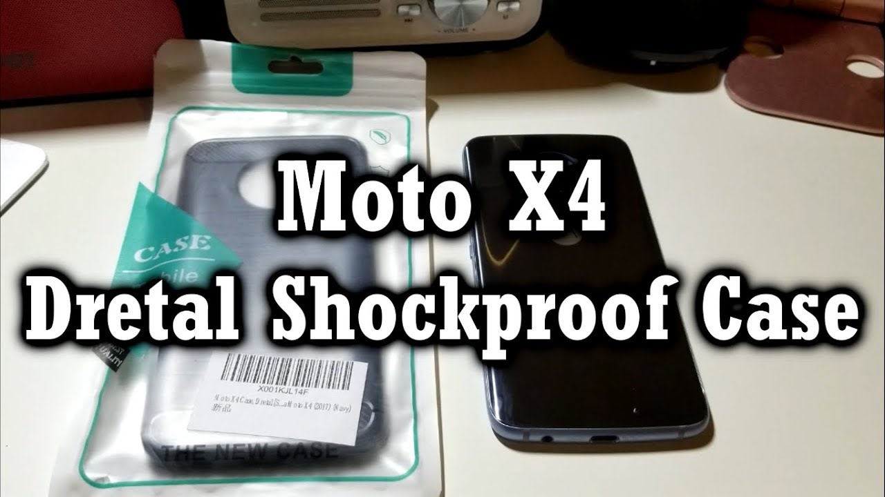best authentic 738f5 66f60 Moto X4: Dretal Shockproof Case! 8$