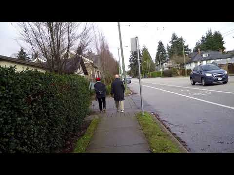 Walking Around Vancouver - British Columbia (Western Canada) - Mild Winter Climate
