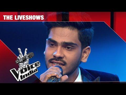 Farhan Sabir - chand mere Dil +Ah Dil Kya Mahfil Hai | The Liveshows | The Voice India S2