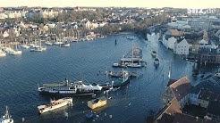 Erst Sturm, dann Wasser: Ausnahmezustand in Flensburg