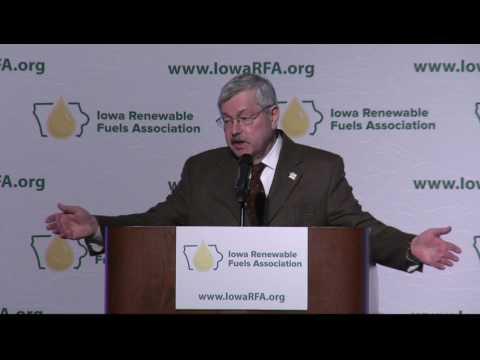 Branstad and Reynolds talk ethanol and biodiesel