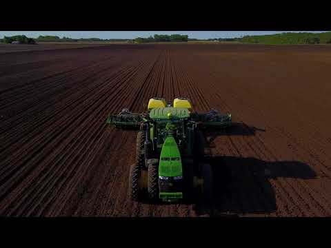 4 Years of Farm Drone Video - Spring Burndown to Fall Tillage  LONG VER