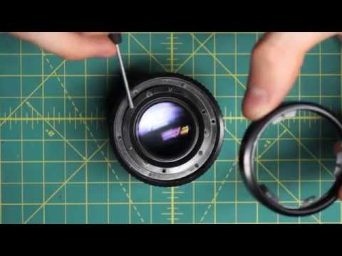 Minolta MD 50mm f1.7 Lens Disassembly