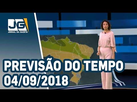Previsão do Tempo – 04/09/2018