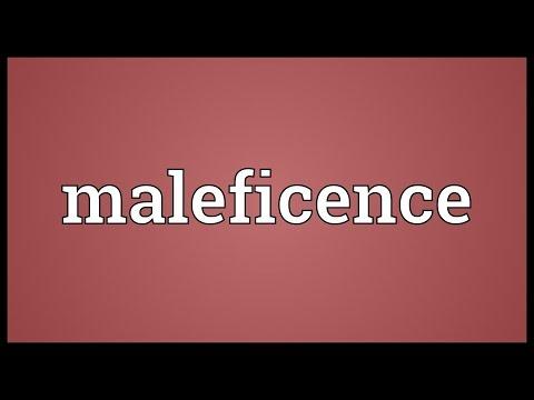 Header of maleficence