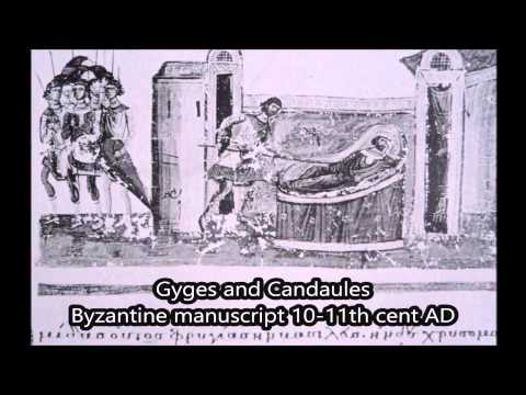 Figures and scenes of Greek antiquity in Byzantine manuscripts