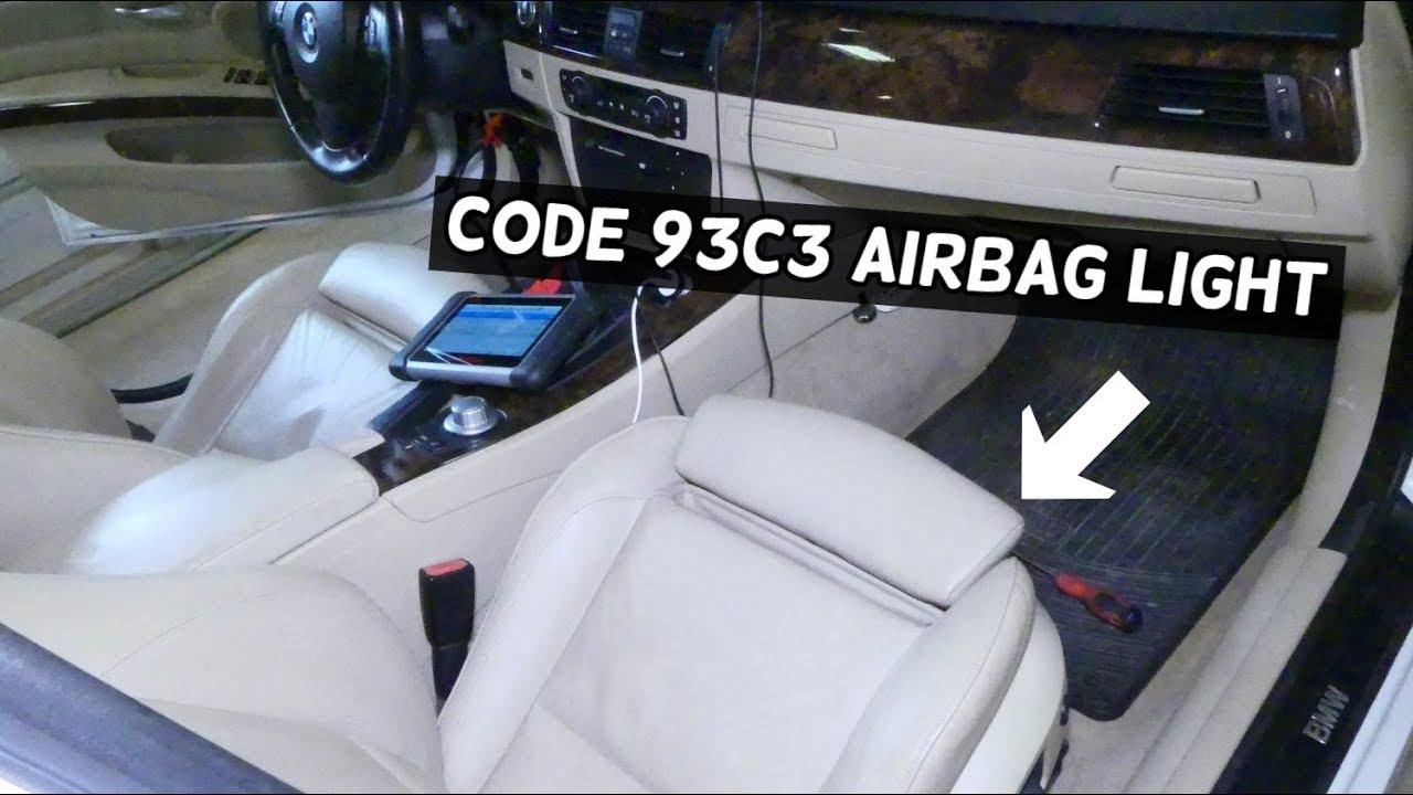 Bmw E90 Airbag Light