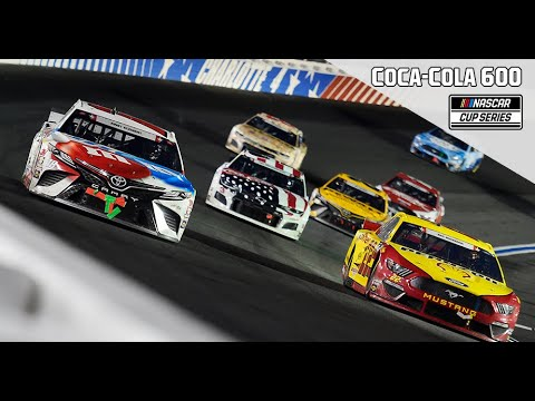 Coca-Cola 600 from Charlotte Motor Speedway | NASCAR Full Race Replay