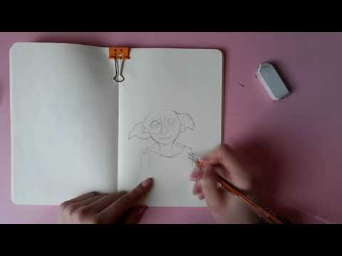 How To Draw Dobby From Harry Potter