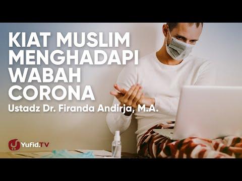 kiat-muslim-menghadapi-wabah-virus-corona-di-indonesia---ustadz-firanda-andirja