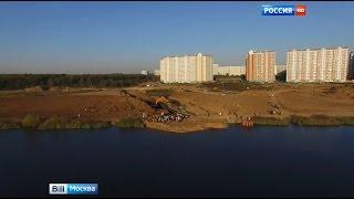 Мичуринский пруд. Репортаж телеканала Россия 1, программа Вести Москва