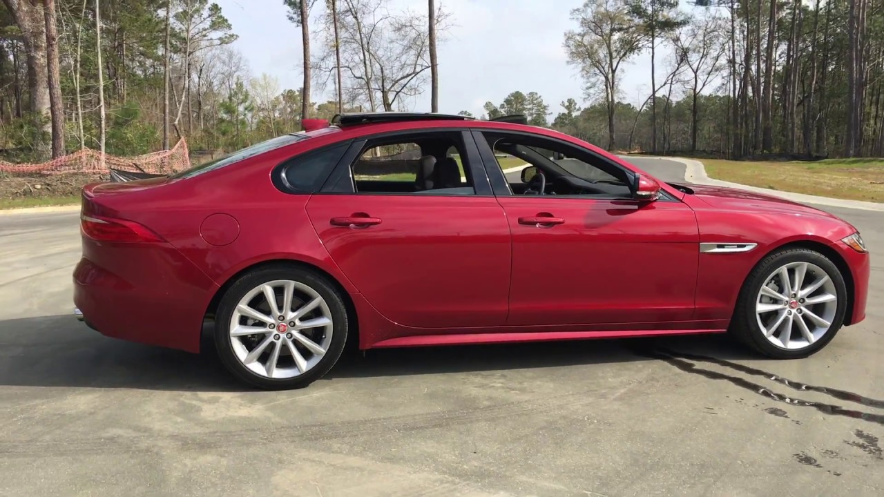 Hd Walkaround 2017 Jaguar Xf 35t R Sport Awd