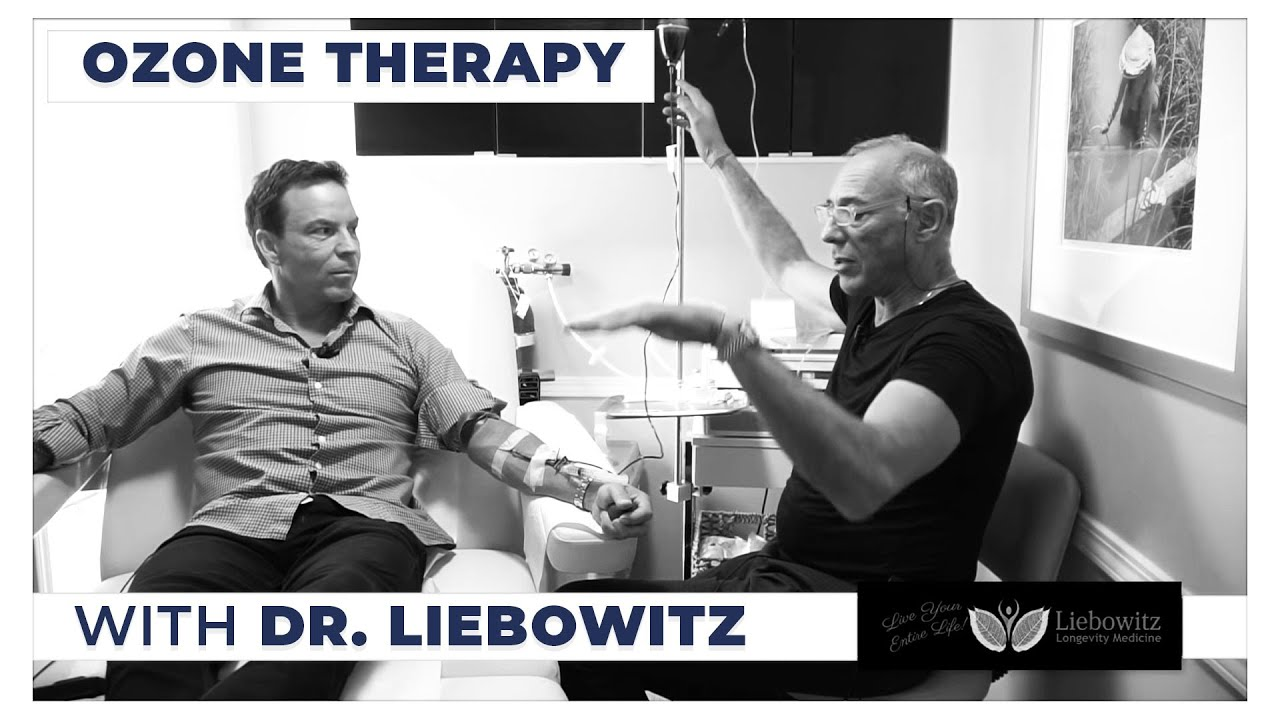 The Benefits of Ozone Therapy with Dr  Howard Liebowitz