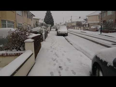 Another Snow Day In Bristol, 18 March 2018