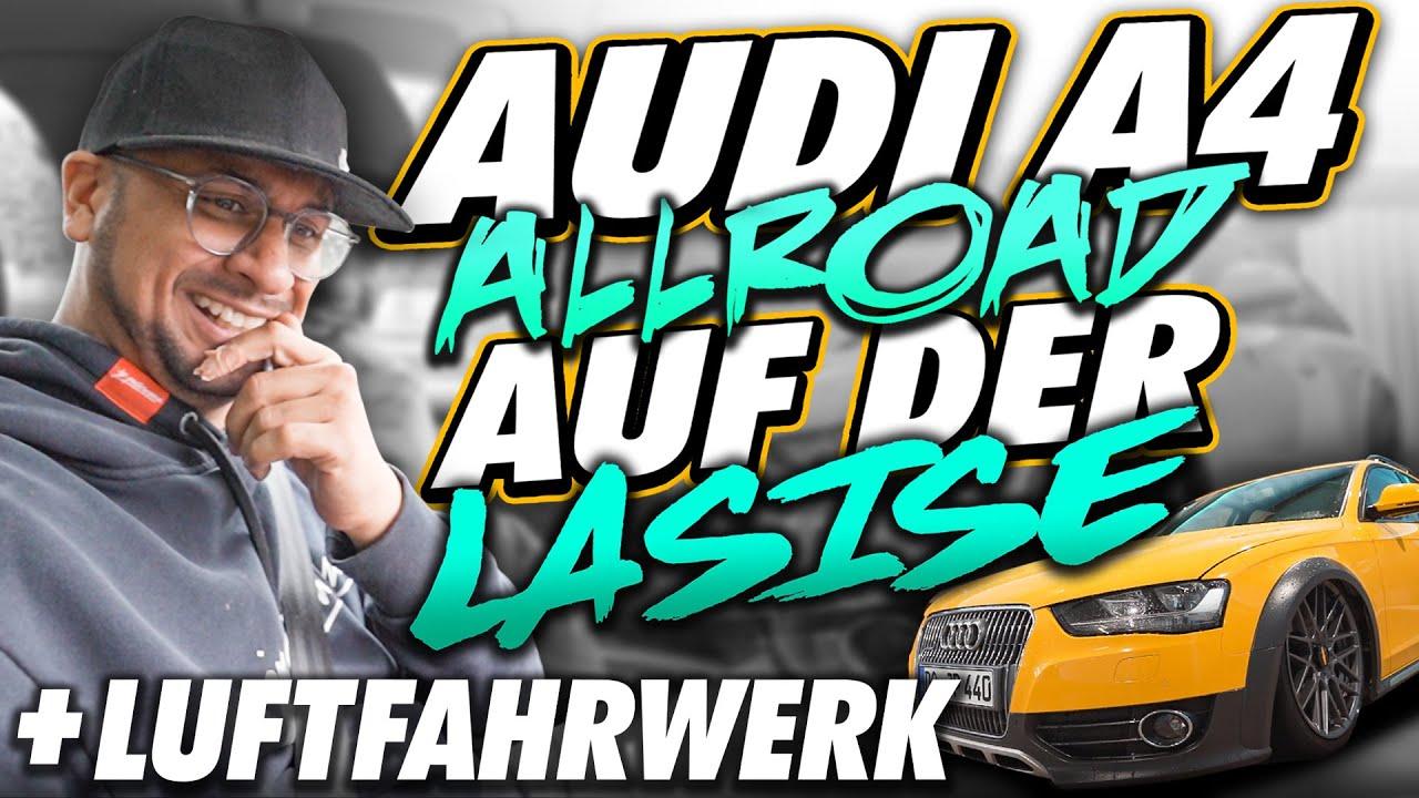 JP Performance - Audi A4 Allroad mit Luftfahrwerk auf der LaSiSe