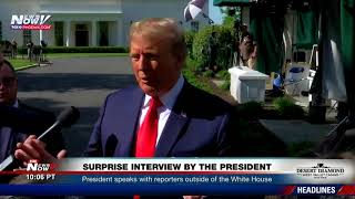 MUST WATCH: President Trump Puts Reporter In Place - QUIET!